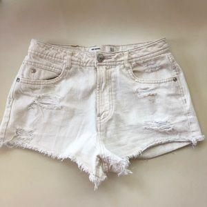 Zara Denim cut off shorts